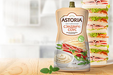 Sandwich sauce — new product in Astoria range