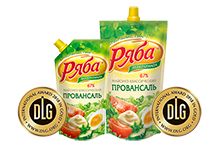 """Ryaba"" ""Provansal classichesky"" mayonnaise received European quality mark - DLG gold medals"